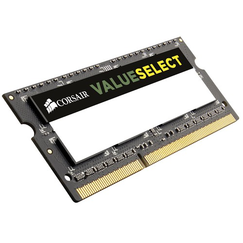 CORSAIR Memory Notebook 8GB DDR3 PC-12800 [CMSO8GX3M1A1600C11] - Memory So-Dimm Ddr3